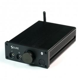 2 x 100Watt 6 Ohm Class D Audio Amplifier Explorer w Bluetooth, Remote Control & MW 24V 120W Power Adapter