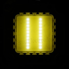 2pcs 20W 45mil (38mil Red) Chips Multicolor High Power LED Panel 20 Watt Lamp Light DIY (10 series in 2 parallel)