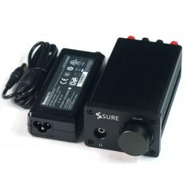 2 X 50Watt Class D Audio Amplifier TDA7492 w Huntkey 19V 90W Power Adapter