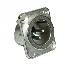 Neutrik NC3MD-LX XLR 3-Pin Female Chassis Panel Socket