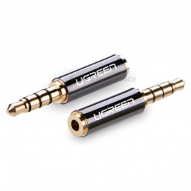 Ugreen HIFI Gold Plated 3.5mm Male to 2.5mm Female Audio Adapter