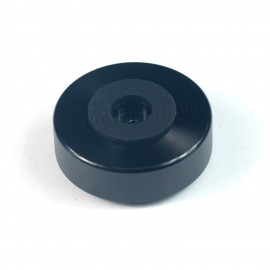 4pcs 45x18mm Aluminum Speaker Spike Isolation Feet Hifi Stand Base Black