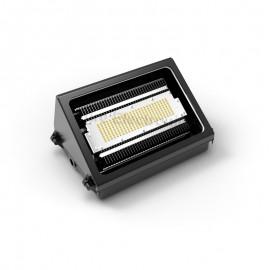 Wall light w heatsink for the new generation of green led lighting 50W black