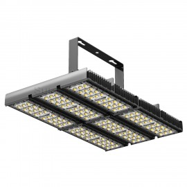 Tunnel lights w heatsink and aluminum plate 180W 36V 4800mA 596*346.5*154mm BLK