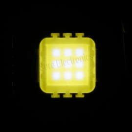 2pcs 10W 45mil (38mil Red) Chips Multicolor High Power LED Panel 10 Watt Lamp Light DIY (3 series in 3 parallel)