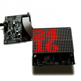 NEW Demo Driver Board for 0832 Dot-matrix LED Edition I