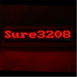 P4 32X8 Red LED Dot Matrix Unit Board LED