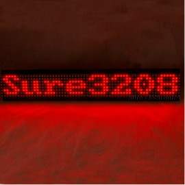 P7.62 32X8 Red LED Dot Matrix Unit Board LED