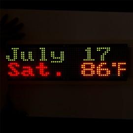 3216 Bicolor Red & Green LED 5mm Dot Matrix Display Information Display Board