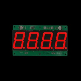 """2pcs1.8"""" Character Height 7-segment LED Information Board"""