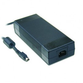 Mean Well GS220A12-R7B Desktop Adapter Power Supply Charger 12V 15A 180W 4pin
