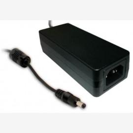 Mean Well GST60A18-P1J 18V 3.33A 60W AC/DC Power Adapter Level VI energy efficient