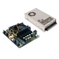 4 X 100W Class D Audio Amplifier Combo Kit w MW 24V 450W Power Supply STA508