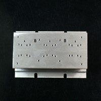 2.4x4.7inch Aluminum Alloy Heat Sink for 1W/3W/5W/10W/20W LED Silver White
