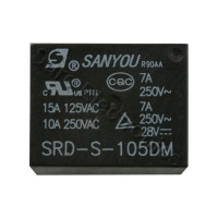 SANYOU SRD-S-105DM 12VDC Coil Power Relay