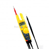 Fluke T5-600 Voltage Continuity and Current Tester 600V Electrical Tester yellow
