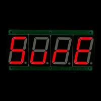 1.5 inch 4 digit 7-segment Red Display Board