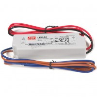 MW Mean Well LPV-20-15 LED Driver 20W 15V IP67 Power Supply  Waterproof