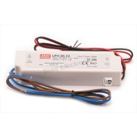 MW Mean Well LPV-35-12 LED Driver 36W 12V IP67 Power Supply  Waterproof