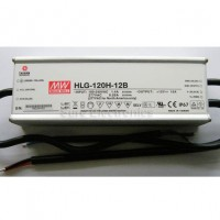 Mean Well HLG-120H-12B 120W 12V 10A Power Supply LED Driver Water & Dust-proof